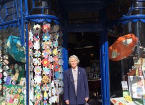 90 year old Ilkley bookshop worker retires