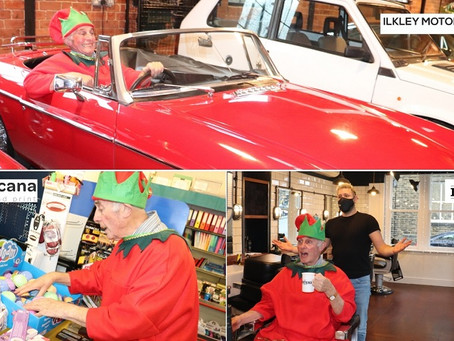 Elves to help you Discover Ilkley at Christmas