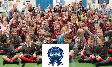 Ghyll Royd School pupils cheered on hear