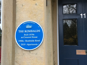 A Blue Plaque for The Rombalds Ilkley