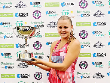 Women's singles champion Evgeniya Rodina