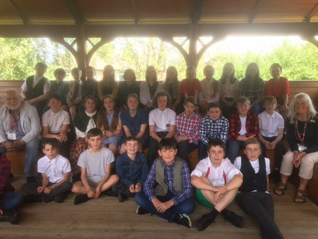 Ilkley Town Council visit primary school to discuss climate change