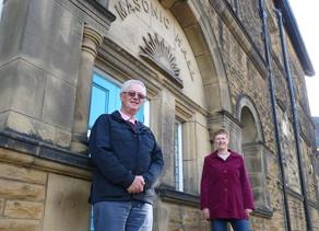 Ilkley charity receives donation from Freemasons