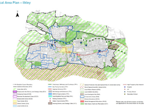 Local plan shows 4 development sites in Ilkley providing 314 homes