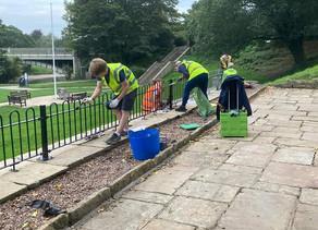Amazing volunteers transform Ilkley's riverside parks