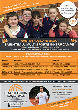 Basketball & Multi Sports Camps