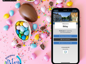 Discover Ilkley and win with interactive Easter trail