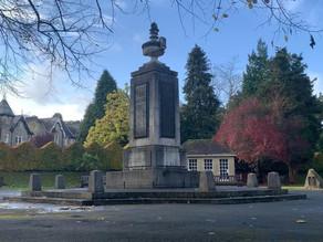 Ilkley's virtual remembrance service on Sunday