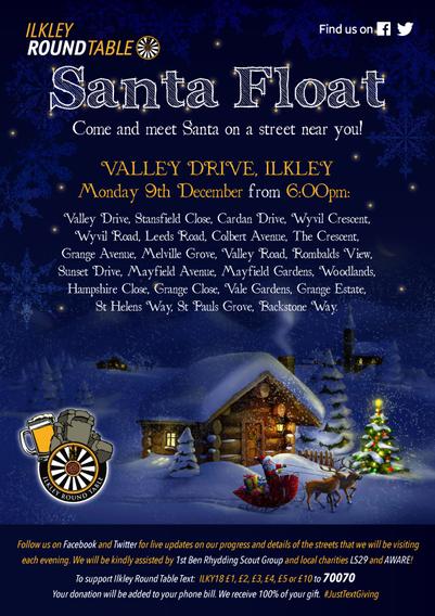 Mon 9 Dec 19 Santa Float-Valley-Drive.pn