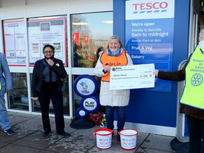Rotary raise £2,600 to support Martin House