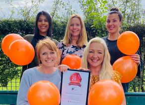 Local nursery wins award for 2nd year running