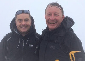 Yorkshire Three peaks, Three times in a row for charity this weekend