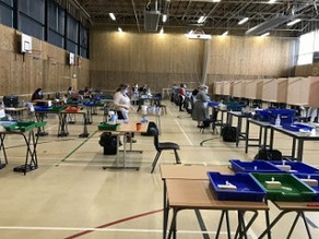 Army of volunteers help IGS deliver over 5600 tests in 9 days