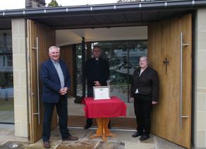 Ilkley Civic Society award presented to All Saints Church