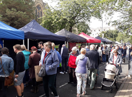 Real Food Ilkley on The Grove Sunday