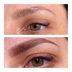 maquillage permanent des Sourcils & liner poudré