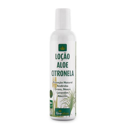 Loção Corporal Aloe e Citronela LiveAloe