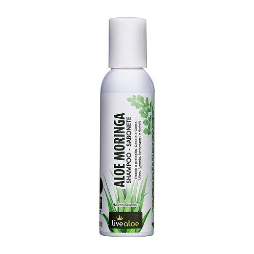 Aloe Moringa Shampoo - Sabonete LiveAloe