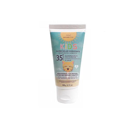 Protetor Solar Hidratante Vegano FPS 35 UVA Infantil Biozenthi