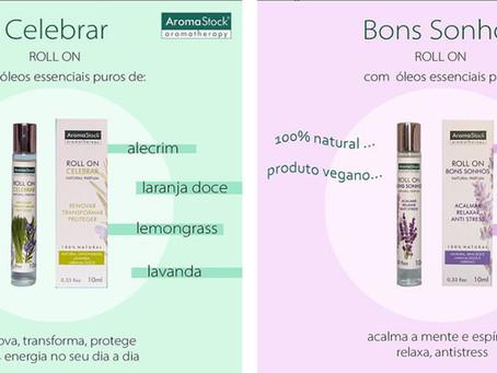 Roll on para os amantes da aromaterapia!