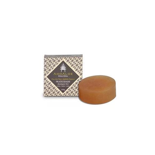 Shampoo Sólido 3×1 Praticidade Ahoaloe 100gr