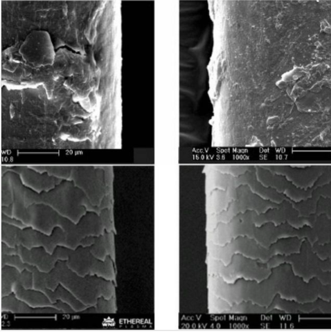 Ethereal Plasma - Antes e depois de reestruturação capilar