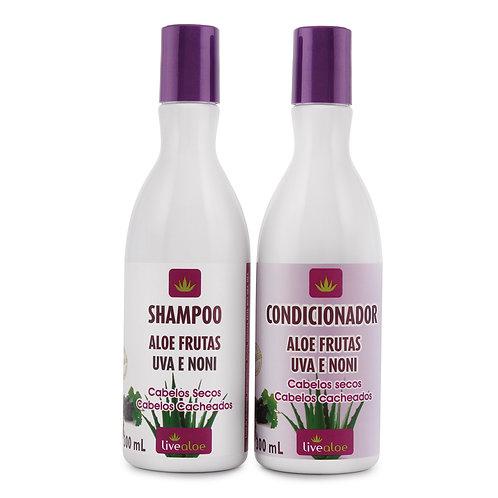 Kit Shampoo e Condicionar Aloe Frutas