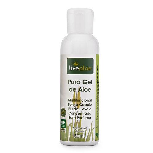 Gel Puro de Aloe Vera LiveAloe - 60ml