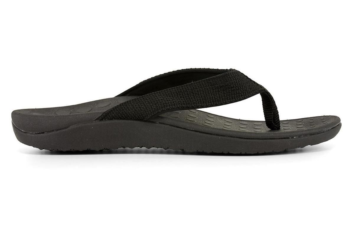 Surf ~ Orthotic Thong ~ Black