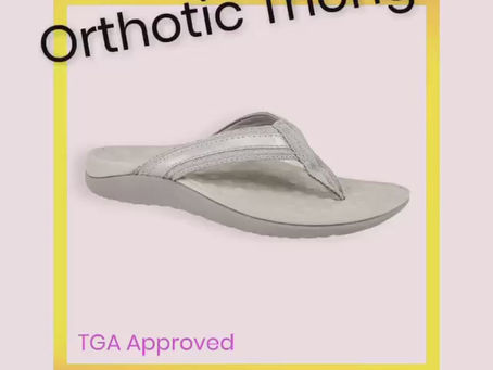 ORTHOTIC THONGS by LORELLA