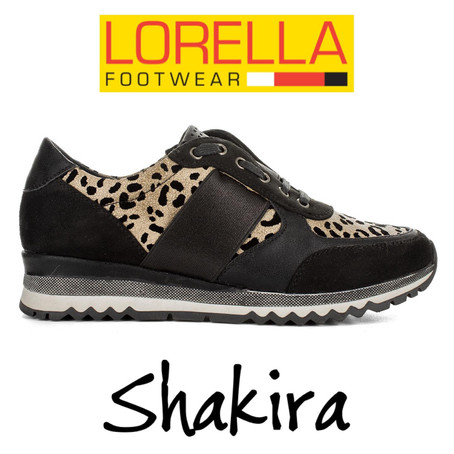 SHAKIRA leopard by LORELLA