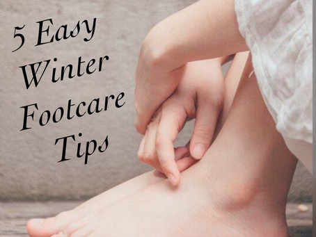 5 Winter Foot Care Tips by LORELLA