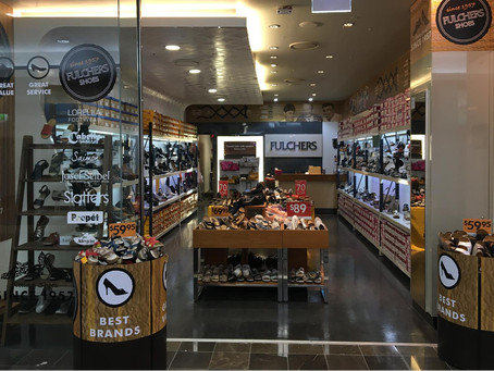 FULCHERS SHOES IS BACK @ Westfield Carindale!