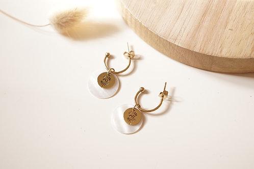 Boucles d'oreilles Clémence