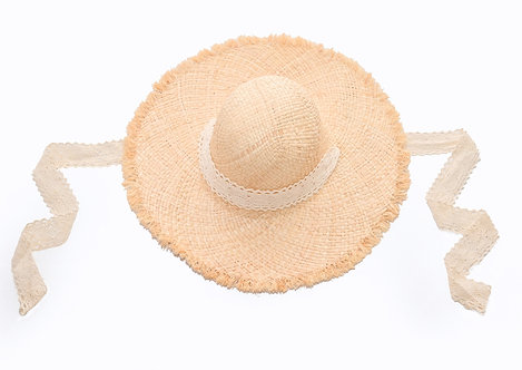 Circular Fringe Hat