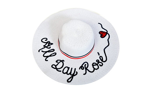 All Day Rosé Floppy Hat