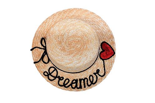 Dreamer (String Bow) Boater Hat