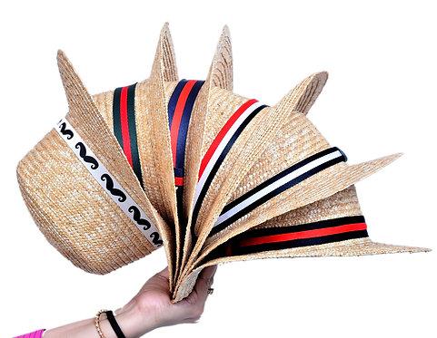 Boater Hat (Regular Bow)