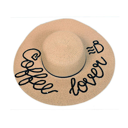 Coffee Lover (Caramel) Floppy Hat