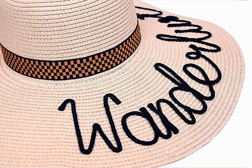 Wanderlust (Beige) Floppy Hat