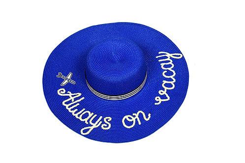 Always on Vacay Floppy Hat