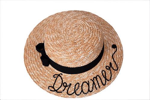 Dreamer (Short Bow) Boater Hat
