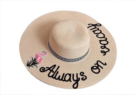 Always on Vacay (Floppy Hat)