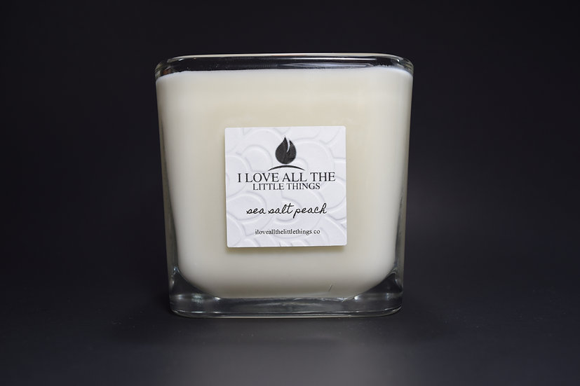 Signature I Love All The Little Things Candle  |  Sea Salt Peach