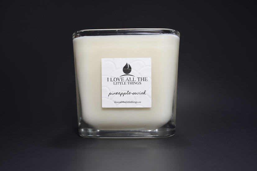 Signature I Love All The Little Things Candle  |  Pinapple Swish