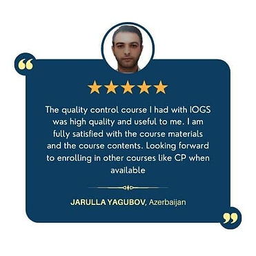 quality control courses