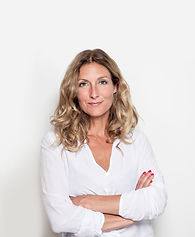 Middle Aged Woman in White Blouse
