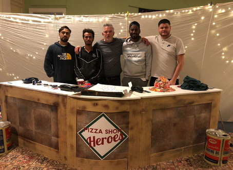 Pizza Shop Heroes visit Ledbury for feasting