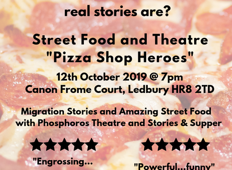 Street Food & Stories Ledbury: 12th October 2019