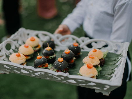 Wedding Canapes!
